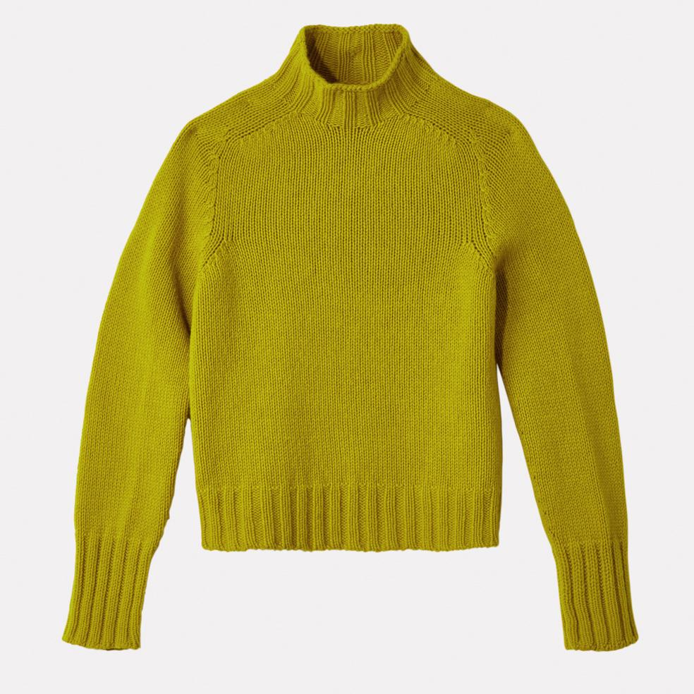 Ladies Turtleneck in Piccalilly