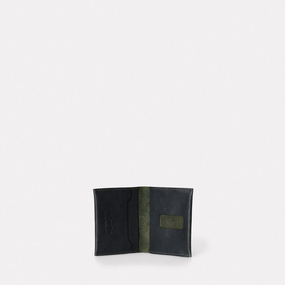 Fletcher Leather Card Holder in Olive
