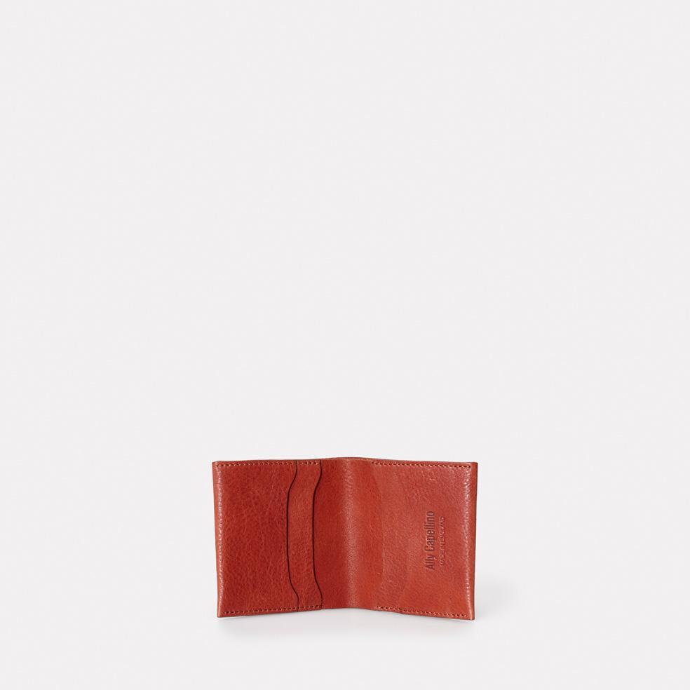 Oliver Leather Wallet in Brandy