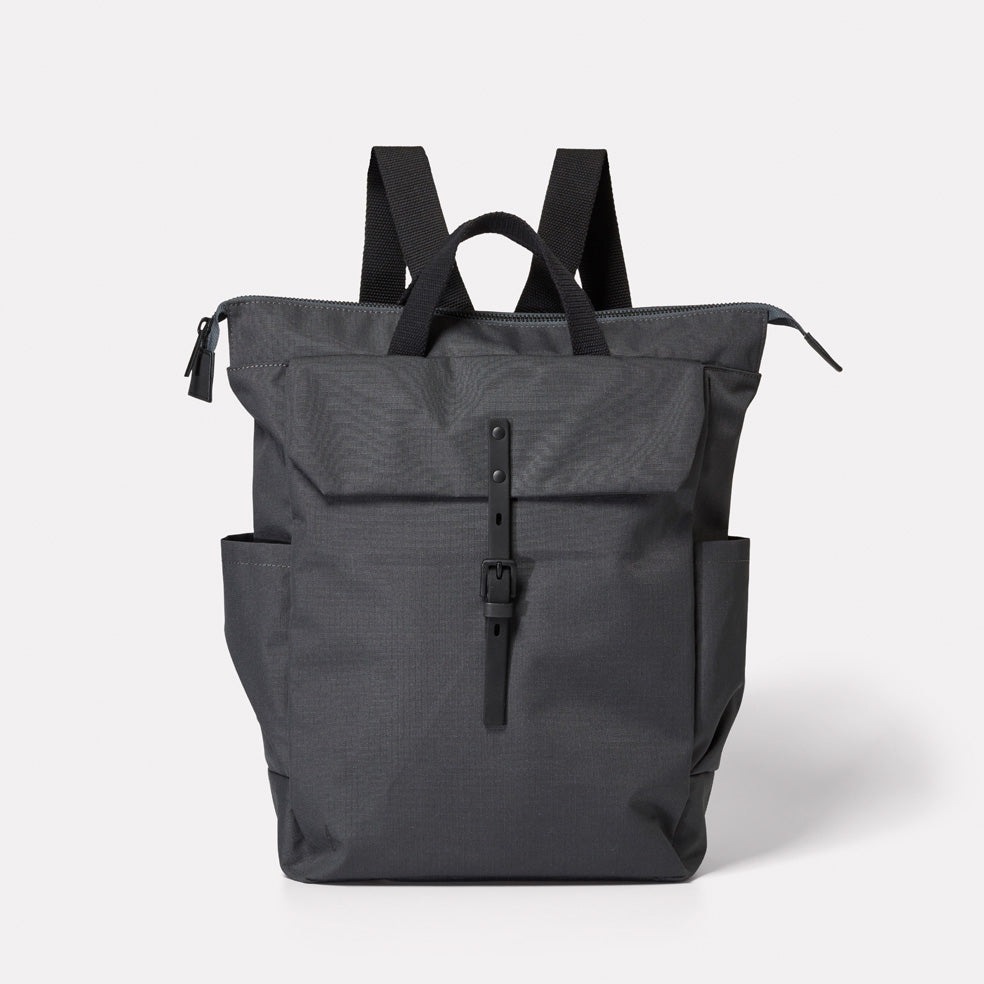 Fin Ripstop Rucksack in Charcoal