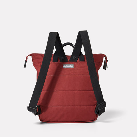 Frances Ripstop Rucksack in Burgundy
