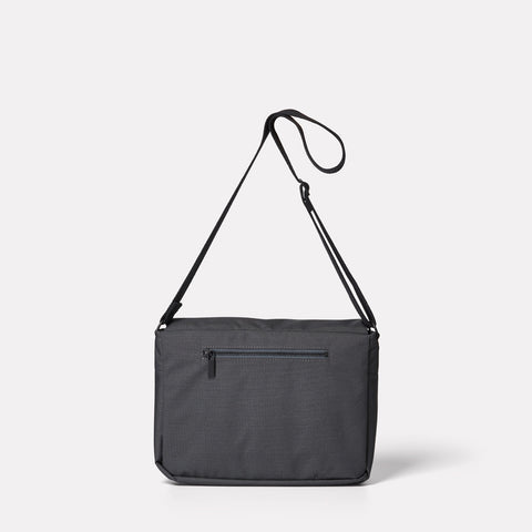 Jeremy Small Ripstop Satchel in Charcoal