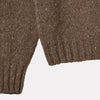 Ladies Cashmere and Merino Turtleneck in Oat