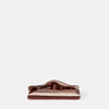 Kit Leather Glasses Case in Plum