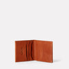 Oliver Leather Wallet in Tan