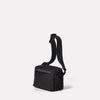 SS19, mens, womens, travel and cycle, nylon, crossbody bag, body bag, bodybag, black, black crossbody bag, black body bag, water resistant, water resistant crossbody bag reflective, cycle bag,