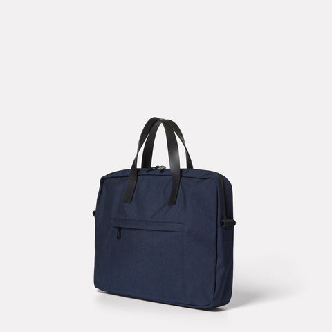 SS19, mens, womens, travel and cycle, briefcase, document case, travel case, travel briefcase, travel document case, cycle briefcase, cycle document case, water resistant, navy, blue, nylon, navy briefcase, navy document case, blue briefcase, blue document case,