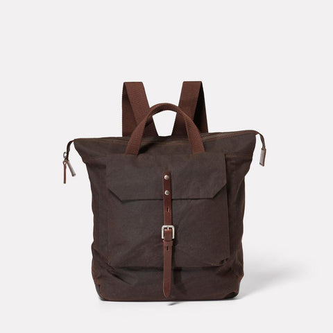 AC_AW18_WEB_WAXED_COTTON_RUCKSACK_BACKPACK_FRANCES_DARK_BROWN_01