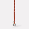 Bibitty Fully Adjustable Slim Leather Belt in Brown for Women