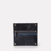 Evie Long Leather Wallet in Navy For Women