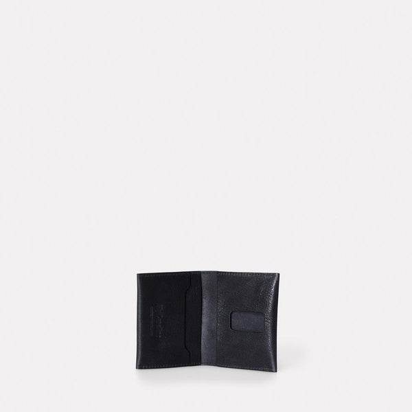 Fletcher Leather Card Holder in Black-Accessories-Ally Capellino-Ally Capellino