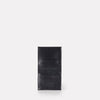 Oliver Slim Leather Wallet For Notes and Cards in Navy for Men and Women