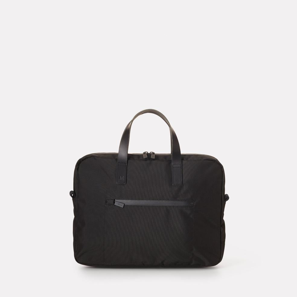 Mansell Travel/Cycle Lightweight Cordura Nylon Briefcase in Black for Women and Men