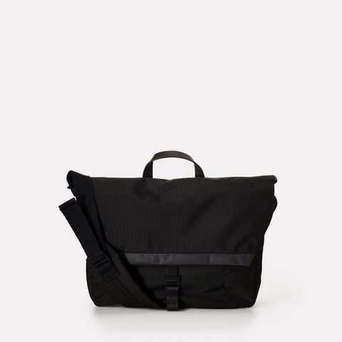 Froome Travel/Cycle Lightweight Cordura Nylon Satchel in Black for women and men