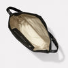 Lloyd Waxed Cotton Bucket Bag in Black and Olive-BUCKET-Ally Capellino-Ally Capellino