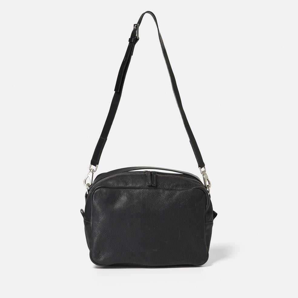 e1a62d76d589 NEW IN  AW18 Leila Large Calvert Leather Crossbody Bag in Black ...