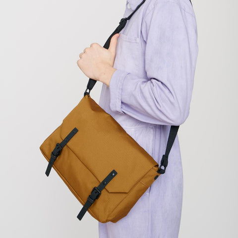 Jez Ripstop Satchel in Charcoal