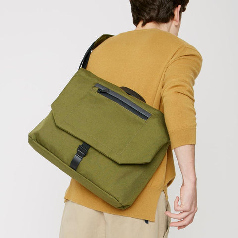Kenny Travel/Cycle Satchel in Green
