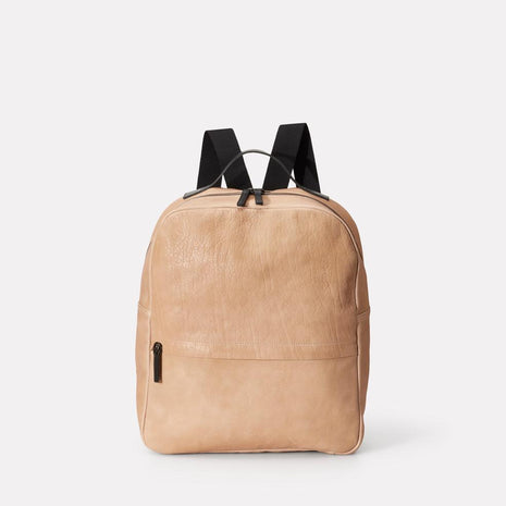 Tàpies Calvert Leather Rucksack in Clay
