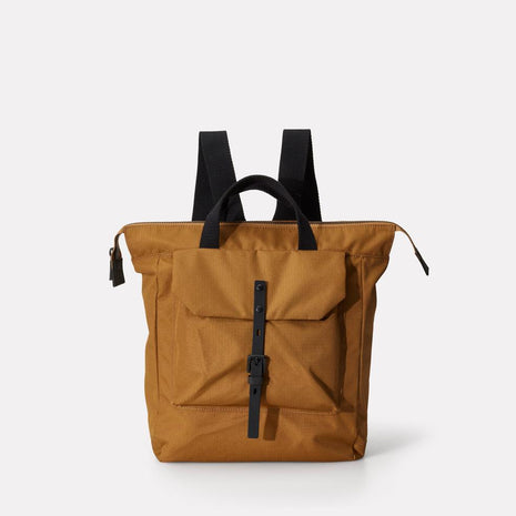 Frances Ripstop Rucksack in Bronze