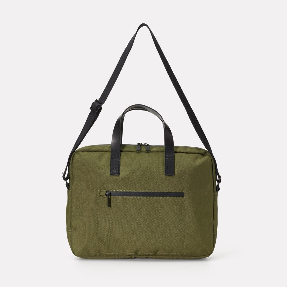 Mansell Travel/Cycle Briefcase in Green