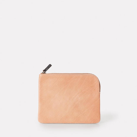 Jan Calvert Leather Purse in Clay