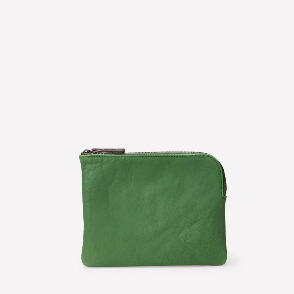 Jan Calvert Leather Purse in Avocado