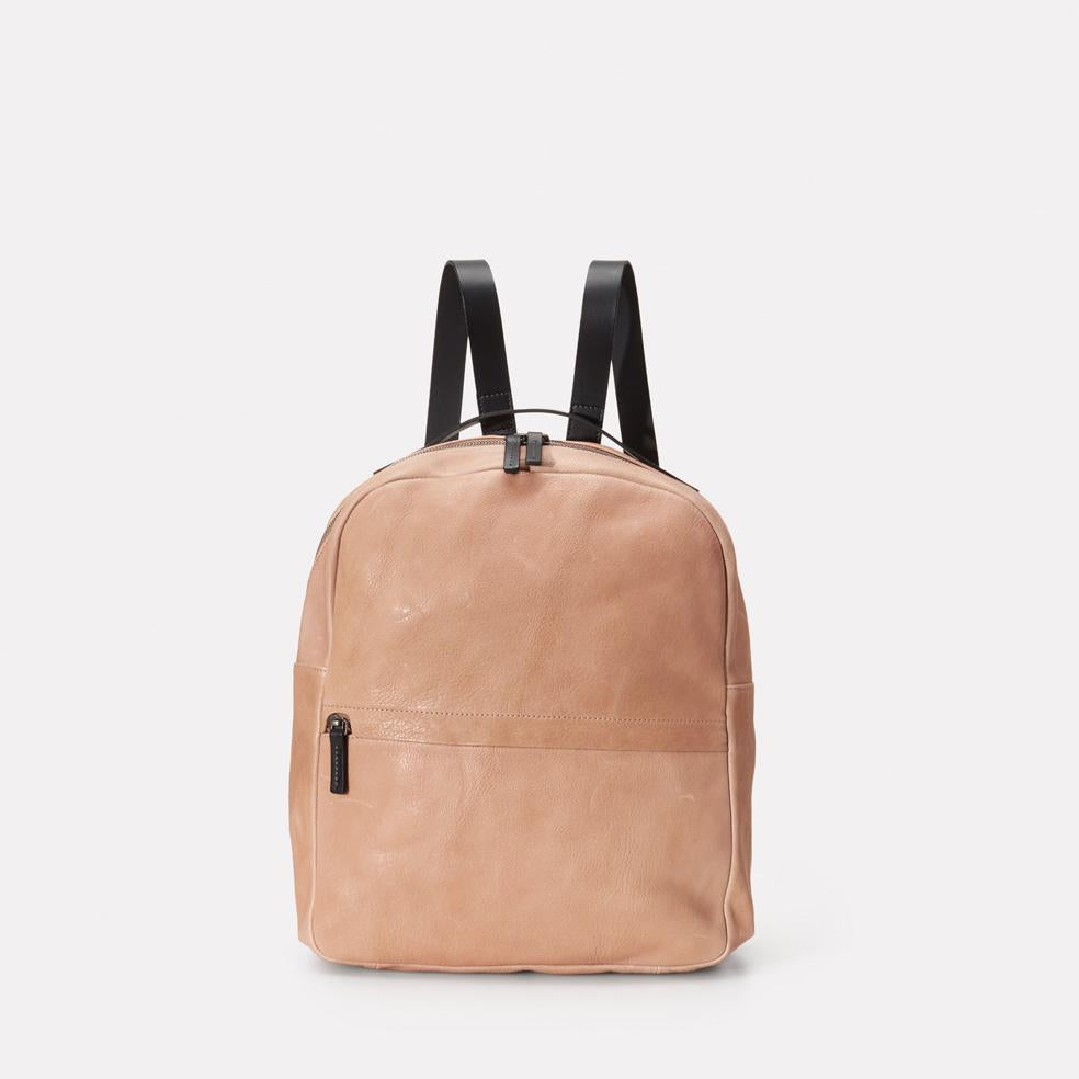 Sandy Small Calvert Leather Rucksack in Clay