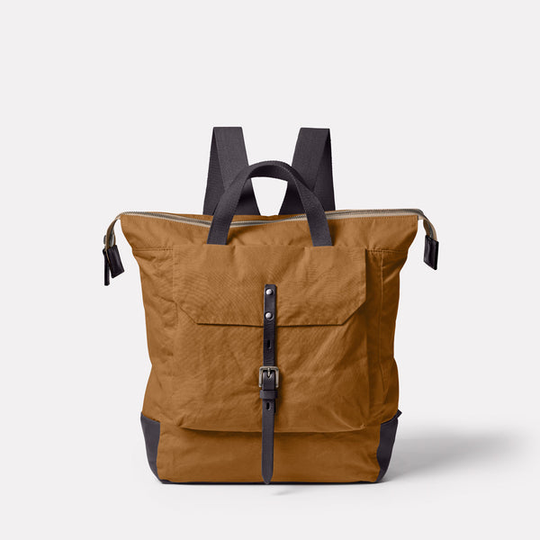 Frances Ripstop Rucksack in Breen Front