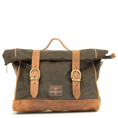 KHAKI PATRIOT SADDLEBAG