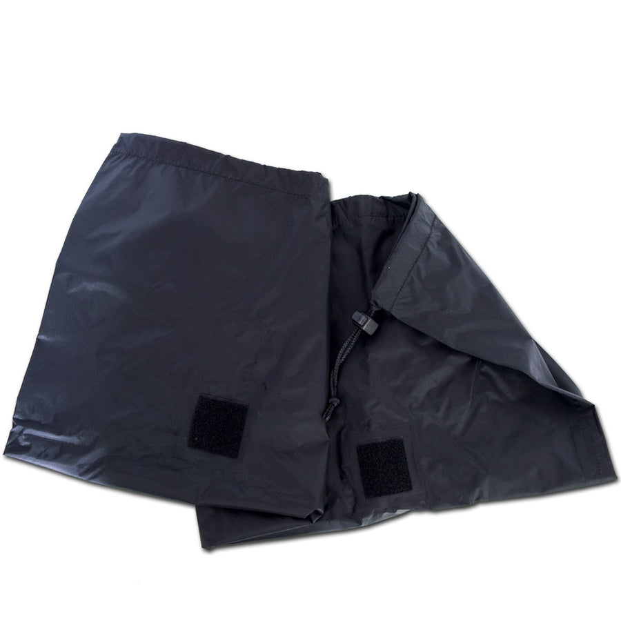 Waterproof pack liner for motorbike luggage.