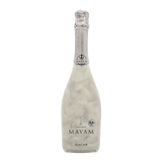 6 bottle case of Mavam Glacier - Discounted to  £10 for each premier bottle of 0% alcohol sparkling wine - Only Here 4 by HG&S Ltd