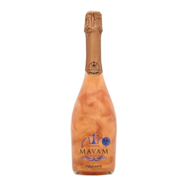 6 bottle case of Mavam Vulcano - Discounted to  £10 for each premier bottle of this 0% alcohol sparkling wine - Only Here 4 by HG&S Ltd