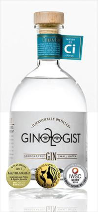 Ginologist Citrus Small Batch Gin - (recipe 02) 75cl - South African - Only Here 4 by HG&S Ltd
