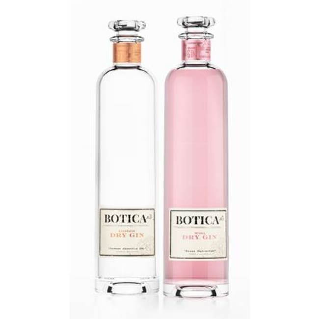 Botica .05 Rosa Distilled Gin & Botica .03 London Dry Gin - Spain - Only Here 4 by HG&S Ltd