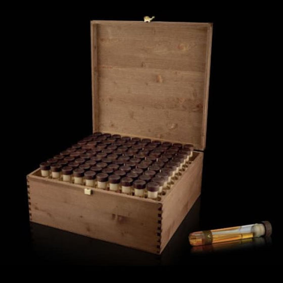 Cigar Game - 100 Tubes - EVO Grand Collection, in natural wood presentation box - 40 EVO, 30 FUMO & 30 D WINE - Only Here 4 by HG&S Ltd