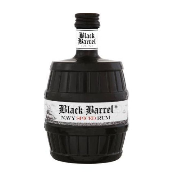 Danish Black Barrel Navy Spiced Rum – Danish - Only Here 4 by HG&S Ltd