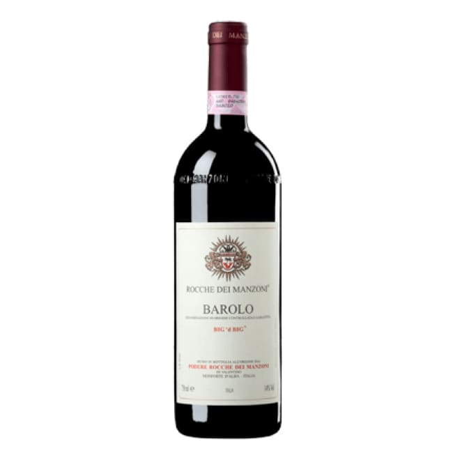 Manzoni 2009 Manzoni Barolo Big 'Dd' Big - 6 Bottle Case - Only Here 4 by HG&S Ltd