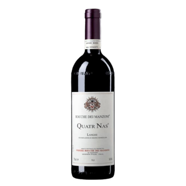 Manzoni 2010 Quatr Nas - 6 Bottle Case - Only Here 4 by HG&S Ltd