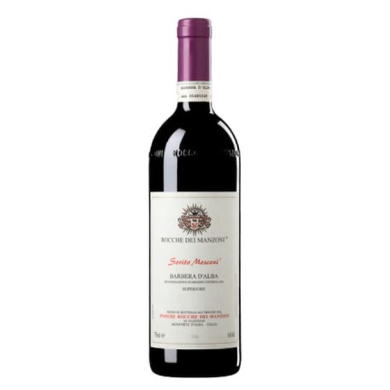 Manzoni 2011 Barbera D'Alba Sorito Mosconi - 6 bottle case - Only Here 4 by HG&S Ltd