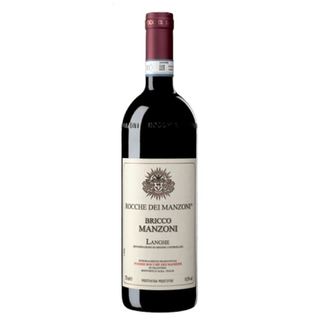 Manzoni 2011 Bricco Manzoni Langhe Rosso - 6 bottle case - Only Here 4 by HG&S Ltd