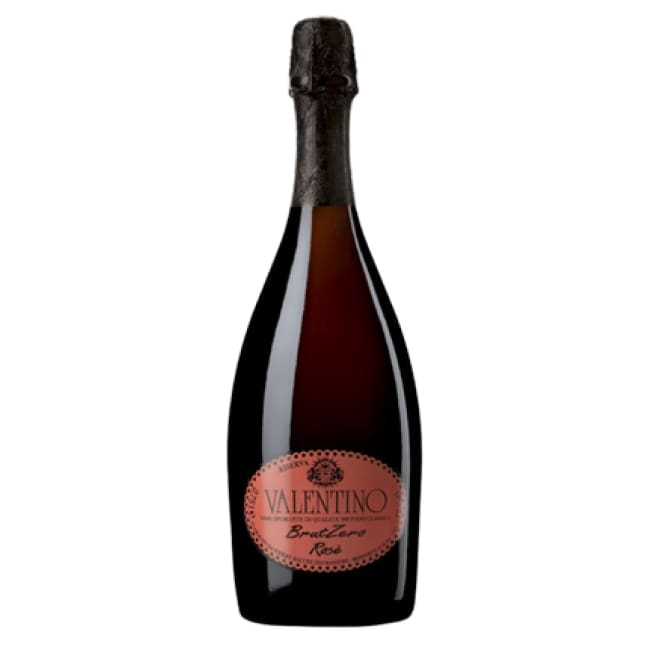 Manzoni 2011 Valentino Brut Zero Rose - 6 bottle case - Only Here 4 by HG&S Ltd