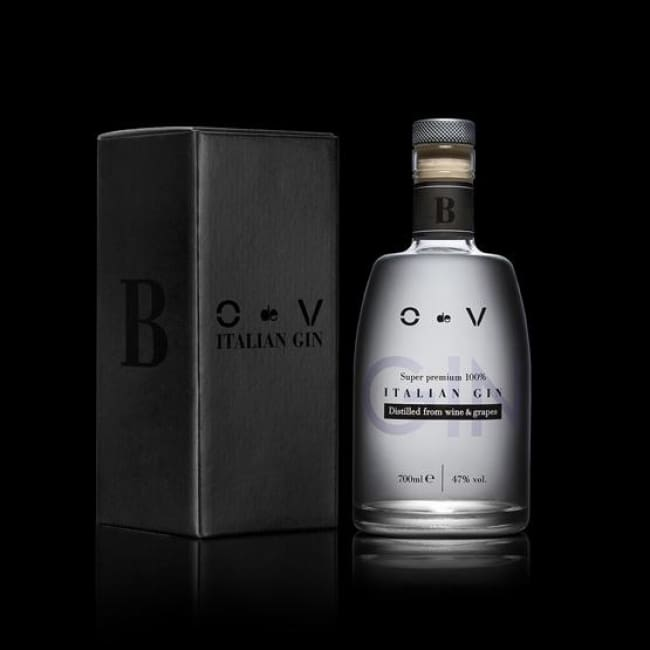 O de V Super Premium 100% Italian Gin - Black - 0.7 Ltr Bottle - Only Here 4 by HG&S Ltd