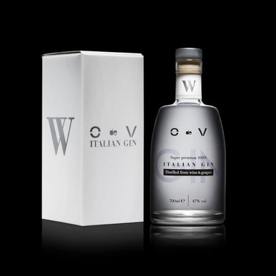 O de V Super Premium 100% Italian Gin - White - 0.7 Ltr Bottle - Only Here 4 by HG&S Ltd