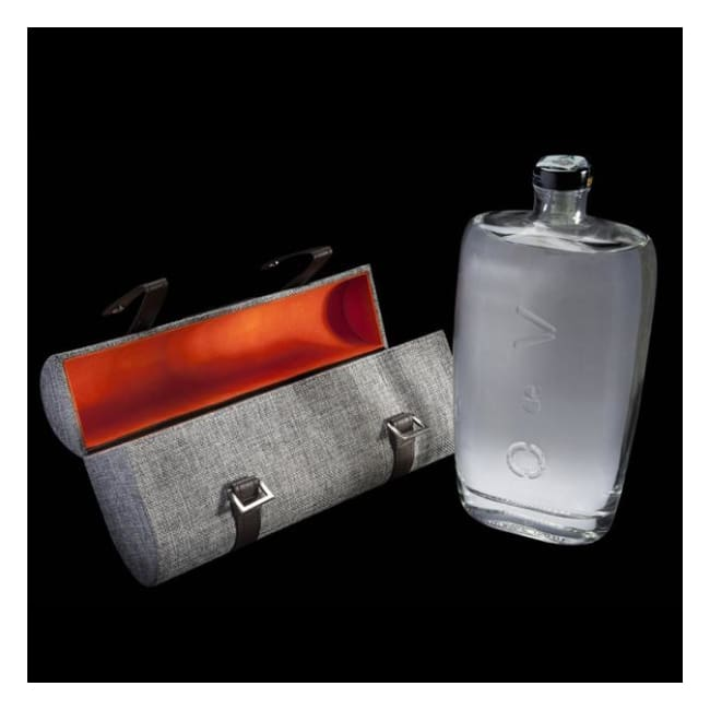 O de V Vodka - 1 Ltr Bottle with Glamorous Designer Clutch Bag - Only Here 4 by HG&S Ltd
