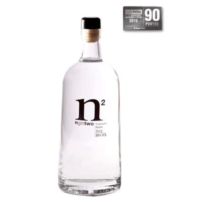 PRICE CUT LAST FEW REMAINING BOTTLES of N GIN 2 - Pink - Spanish Premium Gin - Only Here 4 by HG&S Ltd