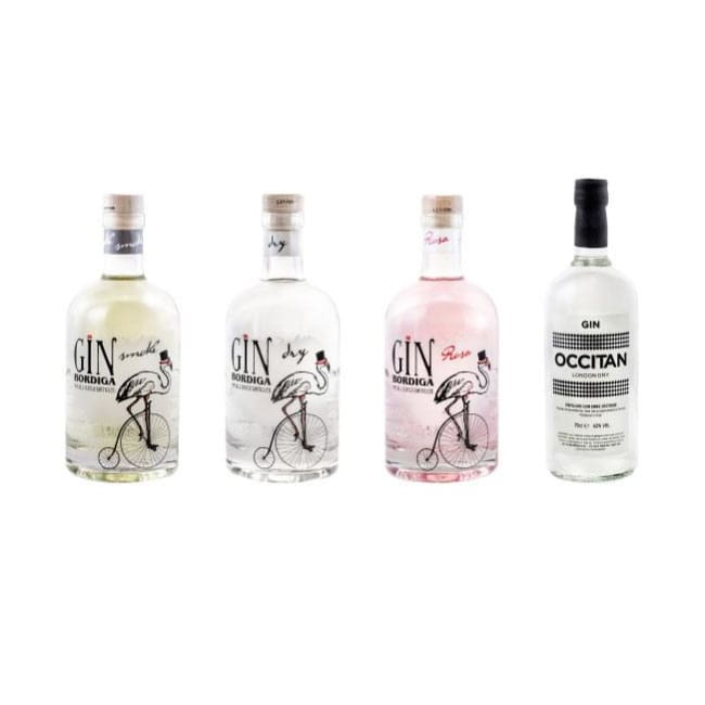 The Bordiga Italian Gin Collection - Dry, Rosa, Smoke & Occitan - Only Here 4 by HG&S Ltd