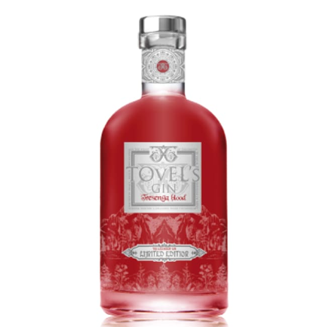 Tovel's Blood Orange Limited Edition (70cl) - Italian Premium Gin - Only Here 4 by HG&S Ltd