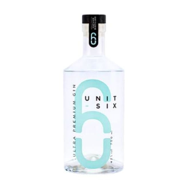 Unit Six Ultra Premium Gin – Isle of Guernsey UK - Only Here 4 by HG&S Ltd