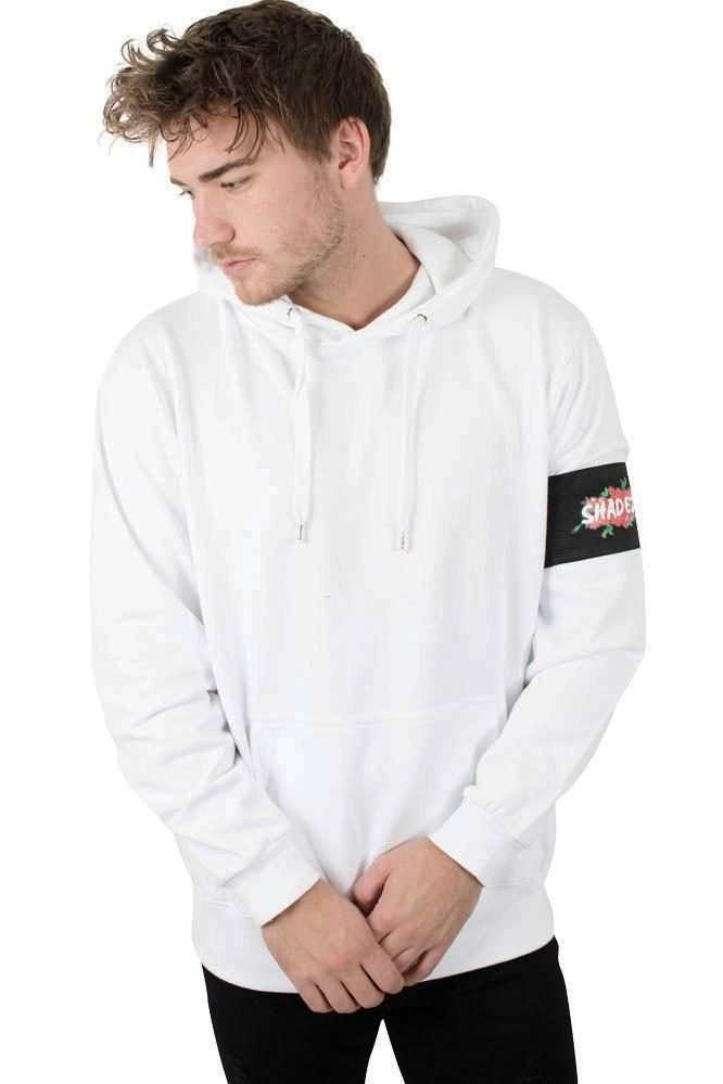 Shadez Black Rose Hoodie White